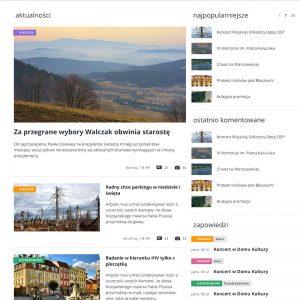 projekt realizacja grafiki portalu internetowego