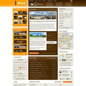 Projekt graficzny portalu internetowego