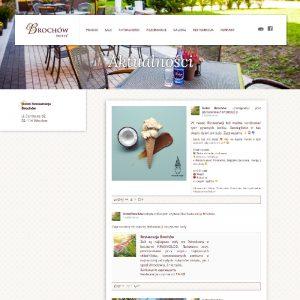 Projekt i wdrożenie strony internetowej hotelu