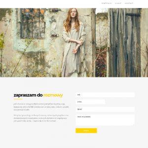 Wdrożenie strony internetowej na gotowym szablonie