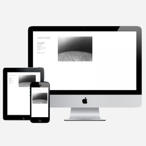 Wdrożenie strony portfolio fotograficznego