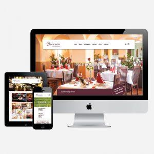Projekt i wdrożenie strony internetowej przyhotelowej restauracji